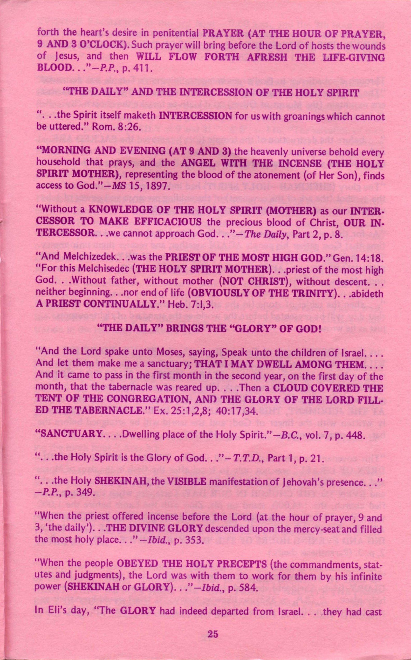 The Original Publications : Behold Thy Mother 3
